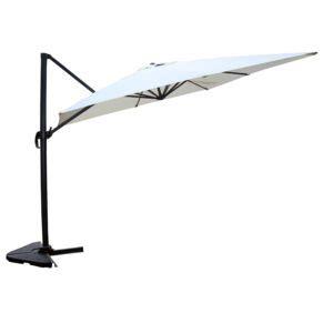 concept usine cesare 233 cru parasol d 233 port 233 rectangulaire de 3x4 m rotatif 224 360 pas cher