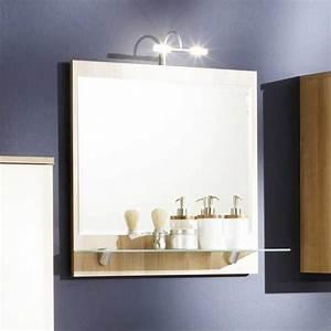 Spiegelschrank Badezimmer Holz : badezimmerspiegel mit beleuchtung und ablage mit material glas und holz dass installation auf ~ Markanthonyermac.com Haus und Dekorationen