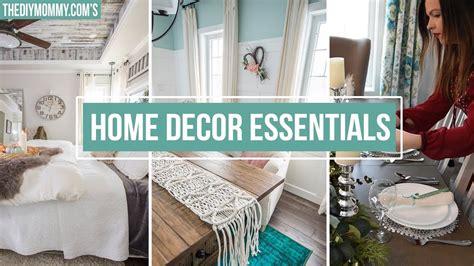 Home Decor Essentials : 5 Home Decor Essentials You Need
