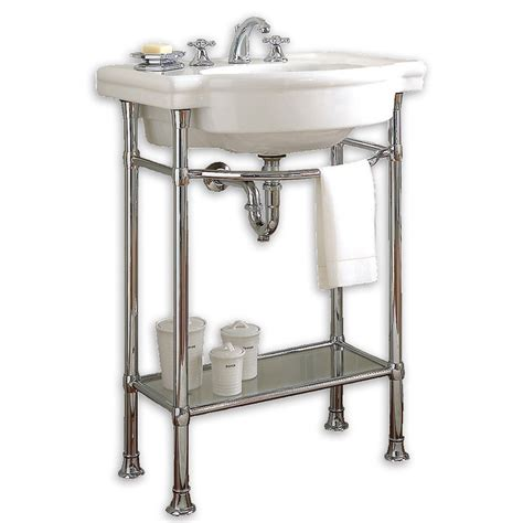 american standard retrospect console table with bathroom sink reviews wayfair