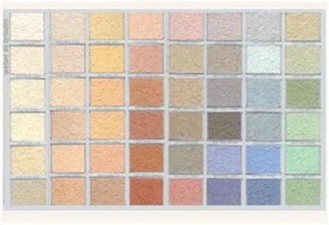 Nuancier Weber Enduit  Resine De Protection Pour Peinture