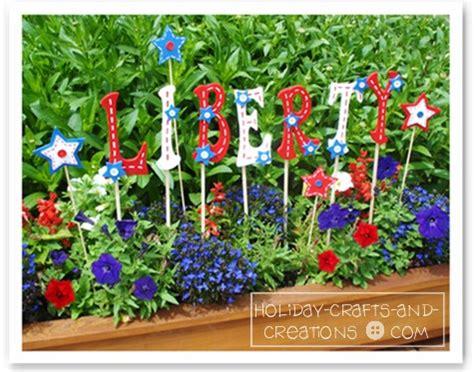 Garden Craft Ideas Patriotic Yard Signs