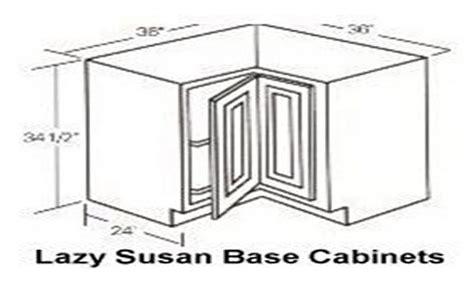 kitchen cabinet base blind corner lazy susan lazy susan