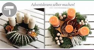 Adventskranz Modern Selber Machen : adventskranz selber machen 3 varianten wohncore ~ Markanthonyermac.com Haus und Dekorationen