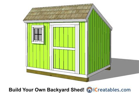 8x10 saltbox shed plans free pdf woodworking 8x10