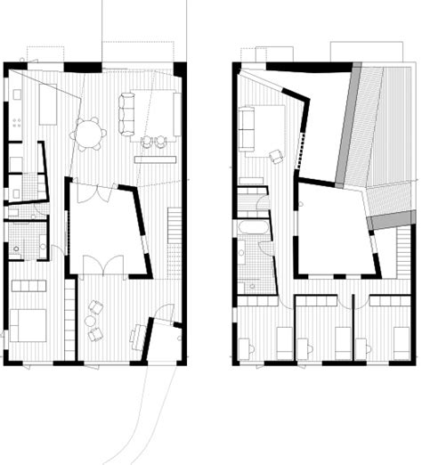 contemporary courtyard house plan modern courtyard house design with deformed roof structure