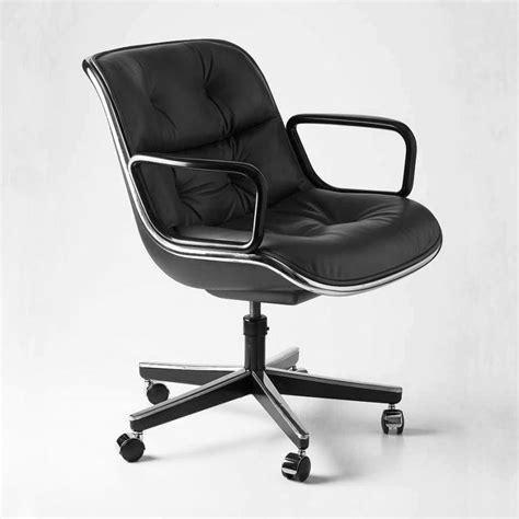 pollock fauteuil sur roulettes knoll international ambientedirect