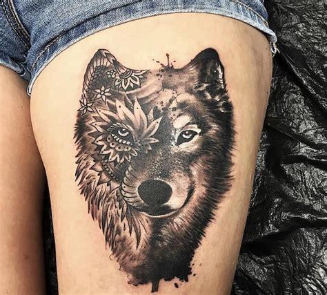 Tatouage Epaule Homme Loup Tattooart Hd