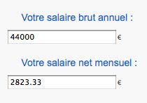 convertir salaire annuel brute en net par mois