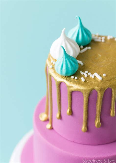 how to make cake how to make a mini drip cake sweetness bite