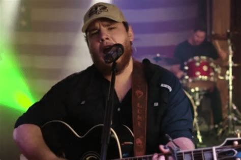 Luke Combs Explores A Stormy Relationship In New Video For