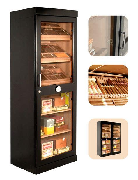 adorini roma black deluxe cigar humidor cabinet 3100 cigar capacitiy