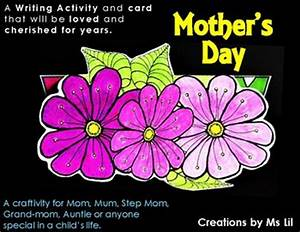Mothers Day Craft :: Mother's Day Writing ... by Ms Lil ...