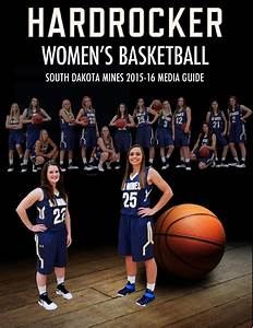 2015-16 SD Mines Women's Basketball Media Guide by Brad ...